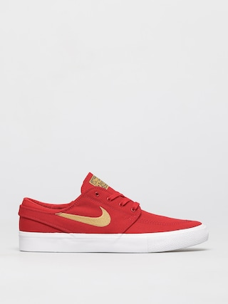 Topu00e1nky Nike SB Zoom Janoski Canvas Rm (university red/club gold university red)