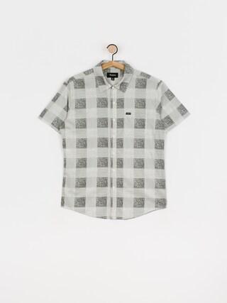 Košeľa Brixton Charter Plaid Wvn (whblk)