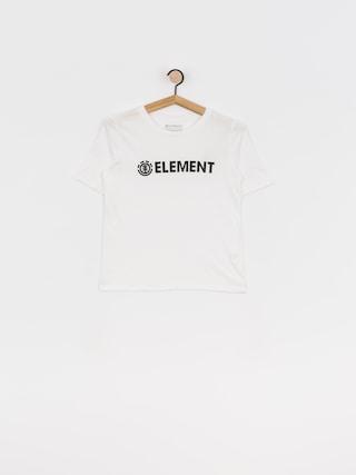 Tričko Element Logo Cr Wmn (white)
