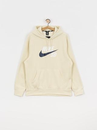 Mikina s kapucňou Nike SB Sb Icon HD (fossil/midnight navy)
