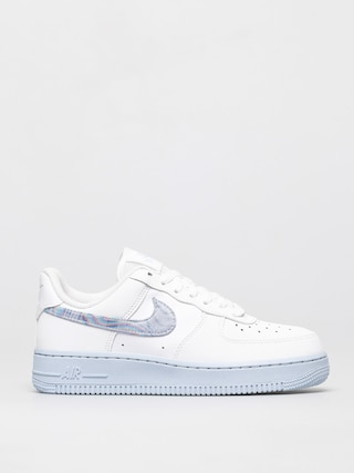 Topu00e1nky Nike Air Force 1 07 Wmn (white/hydrogen blue laser blue)