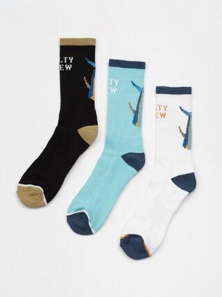 Ponožky Salty Crew Tailed Sock 3Pk (assorted)