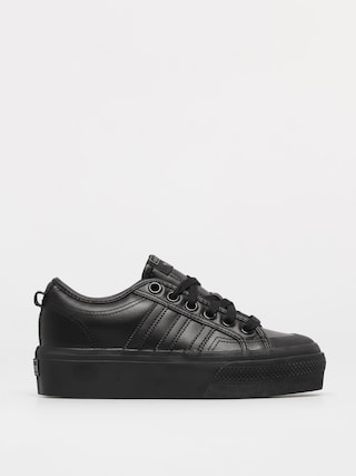 Topu00e1nky adidas Originals Nizza Platform Wmn (cblack/cblack/cblack)