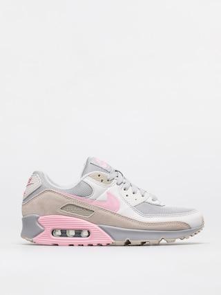 Topu00e1nky Nike Air Max 90 (vast grey/pink wolf grey string)