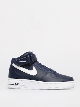 Topu00e1nky Nike Air Force 1 Mid 07 (midnight navy/white)