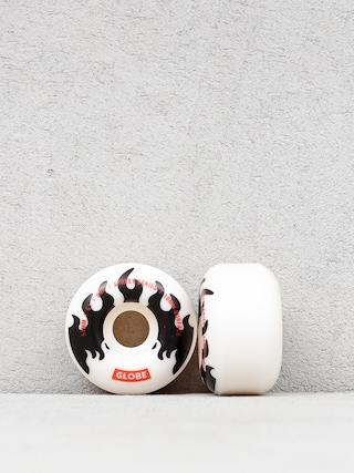 Kolieska Globe G1 (white/black/flames)