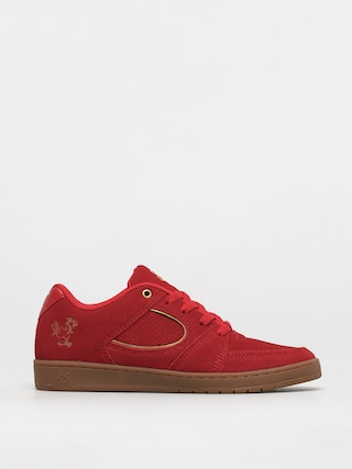 Topánky eS Accel Slim (red/gold)