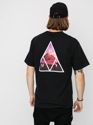 Tričko HUF Mirage (black)