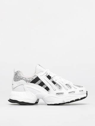 Topu00e1nky adidas Originals Eqt Gazelle Wmn (white/core black/silver met)
