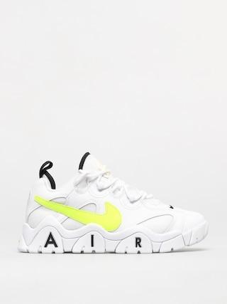 Topu00e1nky Nike Air Barrage Low (white/volt black)