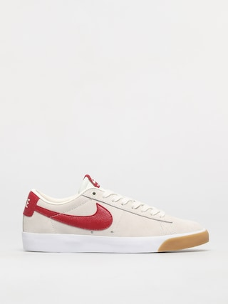 Topu00e1nky Nike SB Blazer Low Gt (sail/cardinal red white gum light brown)