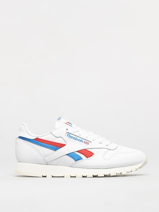 Topánky Reebok Classic Leather (white/insred/dynblu)