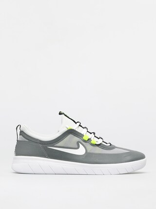 Topu00e1nky Nike SB Nyjah Free 2 0 (smoke grey/white lt smoke grey)