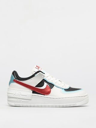 Topánky Nike Af1 Shadow Wmn (summit white/chile red bleached aqua)