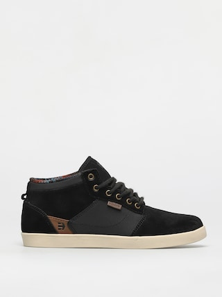 Topu00e1nky Etnies Jefferson Mid (black raw)