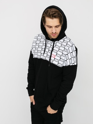 Mikina s kapucu0148ou Koka Checkmate HD (black)