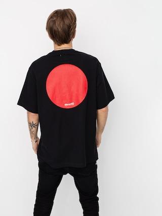 Tričko Element Tokyo Cr (flint black)