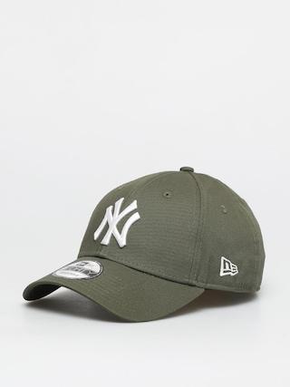 u0160iltovka New Era League Essential New York Yankees 9 Forty ZD (navy/khaki)