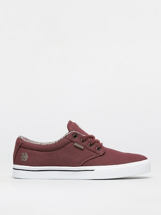 Topu00e1nky Etnies Jameson 2 Eco (burgundy/tan/white)