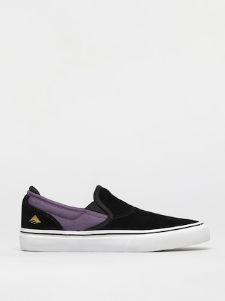 Topu00e1nky Emerica Wino G6 Slip On (black/purple)