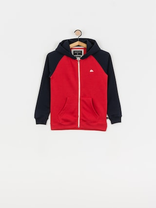 Mikina s kapucu0148ou Quiksilver Easy Day ZHD (american red)