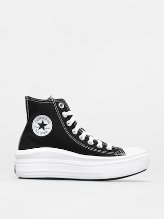 Topu00e1nky Converse Chuck Taylor All Star Move Wmn (black/natural ivory/white)