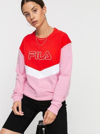 Mikina Fila Ladina Wmn (lilac sachet/poppy red/bright white)