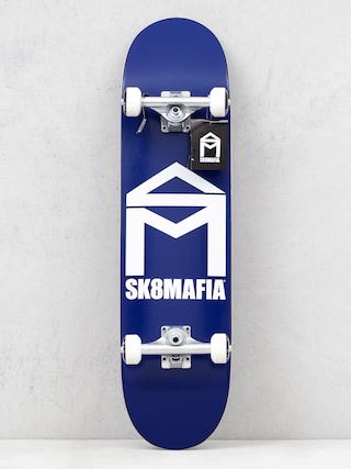 Skateboard Sk8Mafia House Logo (blue)