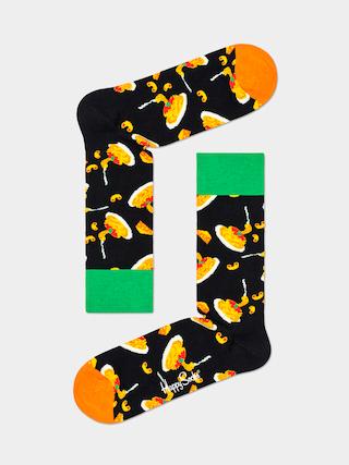 Ponožky Happy Socks Mac & Cheese (black/green/orange)