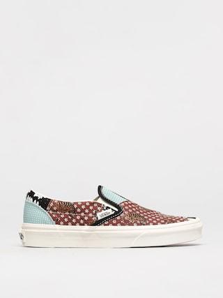 Topánky Vans Classic Slip On (tiger patchwork/blktrwht)
