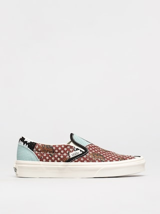 Topu00e1nky Vans Classic Slip On (tiger patchwork/blktrwht)