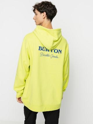 Mikina s kapucňou Burton Durable Goods HD (limeade)