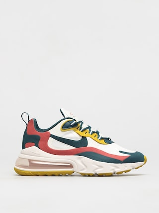 Topánky Nike Air Max 270 React (summit white/midnight turq pueblo red)