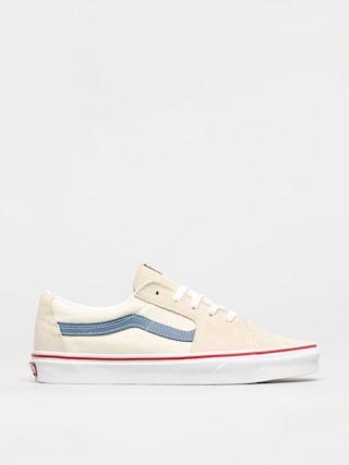 Topu00e1nky Vans Sk8 Low (classic white/navy)