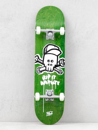 Skateboard Mob Skateboards Skull (green)