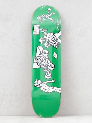 Doska Polar Skate Nick Boseiro Cash Is Queen (green)