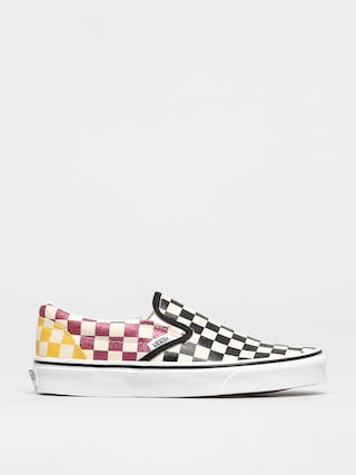 Topu00e1nky Vans Classic Slip On (glitter check/multitrwht)