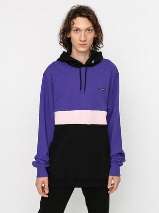 Mikina s kapucňou Volcom Sngl Stn Div HD (liberty purple)