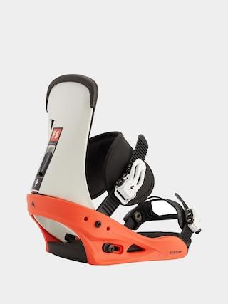 Snowboardovu00e9 viazanie Burton Freestyle (red/white/black)