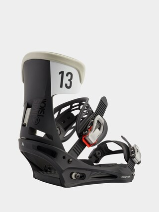 Snowboardovu00e9 viazanie Burton Mission (black/gray wing)