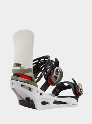 Snowboardovu00e9 viazanie Burton Cartel X (white/black/multi)