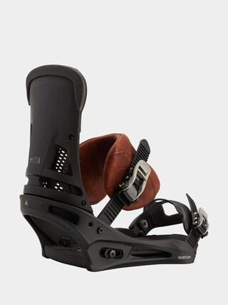Snowboardovu00e9 viazanie Burton Malavita (marbled leather)