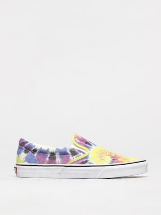 Topu00e1nky Vans Classic Slip On (washed/tie dye/true wht)