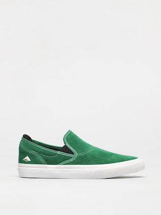Topánky Emerica Wino G6 Slip On (green/white/black)