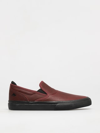 Topu00e1nky Emerica Wino G6 Slip On (oxblood)