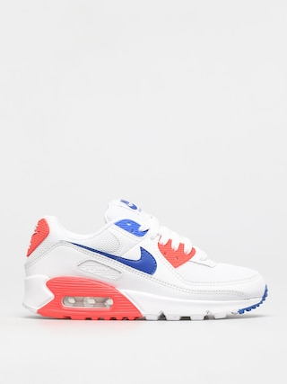 Topu00e1nky Nike Air Max 90 Wmn (white/racer blue flash crimson)