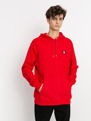Mikina s kapucu0148ou Volcom Sngl Stn HD (fiery red)