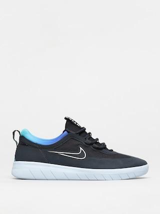 Topu00e1nky Nike SB Nyjah Free 2 T (dark obsidian/white hyper jade)