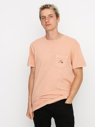 Tričko Quiksilver Basic Bubble Pocket (henna)
