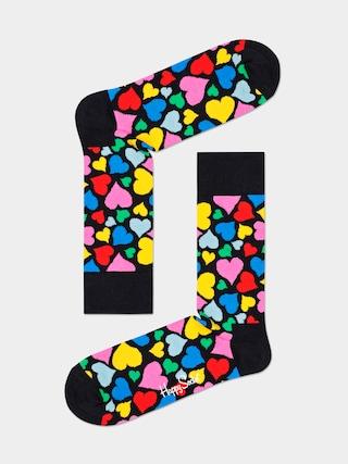 Ponožky Happy Socks Heart (black)